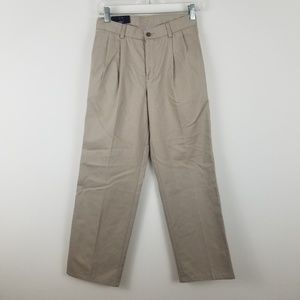 Chaps Pleated front Boys Size 14 New
